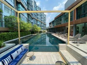 เช่าคอนโดอ่อนนุช อุดมสุข : For Rent! 38 Sq.m 2 BR / Corner Room  /The Excel Hideaway Sukhumvit 71