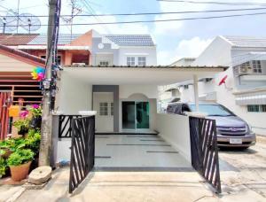 For SaleTownhouseRattanathibet, Sanambinna : 🔰 Phiman Niwet Samakkhi Village, 25 corner plots, Tiwanon-Samakkhi, Nonthaburi