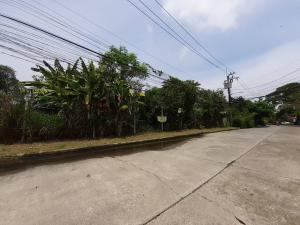 For SaleLandLadkrabang, Suwannaphum Airport : >> Land for sale, Imperial Park Village Soi 5 (wide, quiet road) 104 square wa