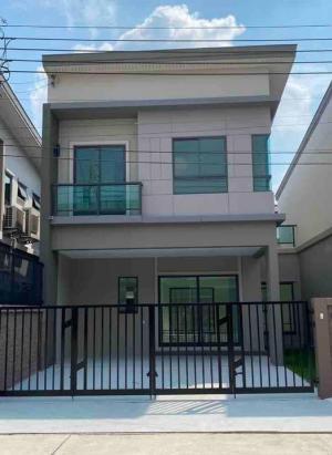 เช่าทาวน์เฮ้าส์/ทาวน์โฮมเสรีไทย-นิด้า : 🏦ให้เช่าบ้านแฝด บ้านใหม่ 🏡🏠โครงการ เดอะแพลนท์ รามคำแหง วงแหวน