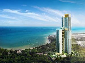 For SaleCondoPattaya, Bangsaen, Chonburi : Luxury Condo On Phra Tamnak Hill Good for investment