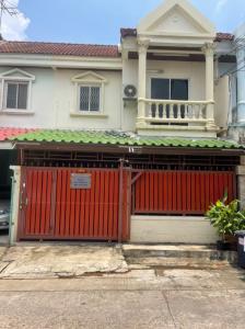 For RentTownhouseKaset Nawamin,Ladplakao : For morning at Baan Nuanchan 40