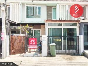 For SaleTownhouseRathburana, Suksawat : 2 storey townhouse for sale Pruksa Ville 47/2 Phutthabucha 36 Village, Thung Khru District, Bangkok