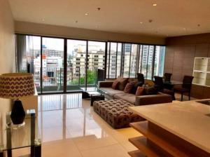 For RentCondoSukhumvit, Asoke, Thonglor : for rent 3 bed + 4 bath + maidroom 161  Sqm._Condo The Emporio Place _BTS: Phrom Phong 850 m.