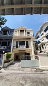 For SaleTownhouseRatchadapisek, Huaikwang, Suttisan : House for sale Suwanmanee 4 bedrooms, 4 bathrooms, 3 floors with 2 parking spaces, Pracha Uthit 23 (S2091).