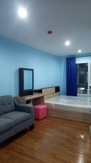 For SaleCondoBang Sue, Wong Sawang : (Reserved room) 1.25 ✅ worth the investment + cheapest!!️ selling room, ready to move in, fully furnished, electric appliances, 2 air conditioners @ Regent Bang Hide 🚝 Facebook 27 Building D, 7th floor 🌈 Pool View 🌈 Beautiful position, pool view. No eleva