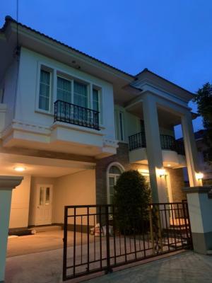 For RentHouseBangna, Lasalle, Bearing : Casa Grand Onnut-Wongwaen for rent, Casa Grand Onnut-Wongwaen.