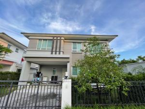 For SaleHouseNawamin, Ramindra : House for sale Life Bangkok Boulevard Ramintra 105-107 behind the corner, size 54.30 square meters [the owner sells by himself]