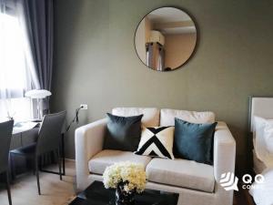 For RentCondoRama9, RCA, Petchaburi : 🍑 For rent  Ideo New Rama 9 - Studio, size 26 sq.m., Beautiful room, fully furnished.🍑
