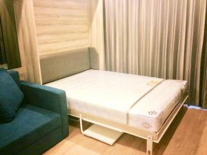 For RentCondoSiam Paragon ,Chulalongkorn,Samyan : Ideo Q Chula-Samyan for rent, 12th floor, with garden on the floor.Beautiful room, fully furnished, pool view