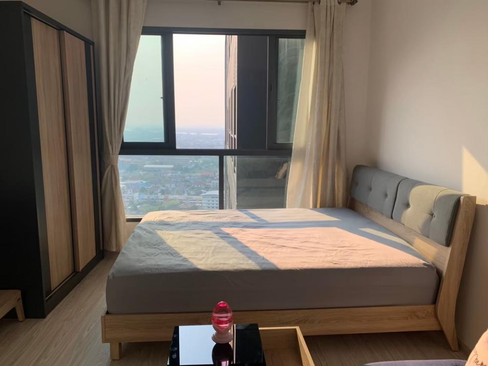 For SaleCondoBangna, Lasalle, Bearing : Sale Ideo Mobi Sukumvit Eastgate, 28th floor, 22 sqm room, Chao Phraya River view.