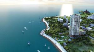 For SaleCondoPattaya, Bangsaen, Chonburi : For Sale Condo Wongamat Tower 2 bedroom Sea View