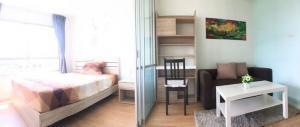 For RentCondoPattanakan, Srinakarin : Available 4/05/2564 Condo for rent Lumpini Ville On Nut - Phatthanakan Building A 26 sq m.