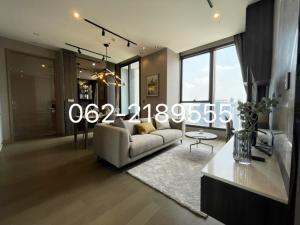 เช่าคอนโดพระราม 9 เพชรบุรีตัดใหม่ : ให้เช่า 2 bed The Esse At Singha complex 55k 📍