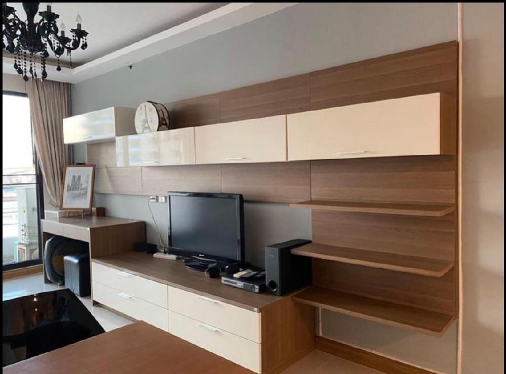For SaleCondoRama3 (Riverside),Satupadit : Condo for sale Supalai Casa Riva Vista 2 size 65 sqm. 1 bedroom, 1 bath, 1 storage room, 1 kitchen, 2 balconies, view price 4.19 million baht, contact: 095-9571441 ID Line: nada_sara