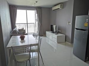 For RentCondoOnnut, Udomsuk : For rent, The Base Sukhumvit 77, beautiful view, fully furnished, near BTS On Nut