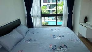 For RentCondoOnnut, Udomsuk : For rent, Icon Do Sukhumvit 103, 3rd floor, pool view.
