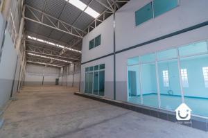 For RentWarehouseRangsit, Patumtani : Warehouse for rent With office next to Kanchanaphisek Road, Klong Luang, Pathum Thani, size 450 sq m.