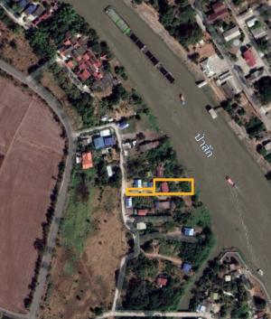For SaleLandAyutthaya : Land + house along the Pasak River Ayutthaya (Mueang District)