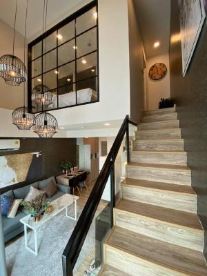 For RentCondoLadprao 48, Chokchai 4, Ladprao 71 : Rent Duplex2 Floor 18,000 / month #Groove Ratchada-Ladprao 48🔥