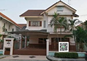For RentHouseRamkhamhaeng,Min Buri, Romklao : House for rent, Parkway Chalet Ramkhamhaeng.