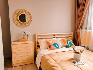 For RentCondoRamkhamhaeng, Hua Mak : 🔥🔥 (Owner) Very cheap rent, THE TREE Huamark Interchange, 1 bedroom, size 26 sqm., Fully furnished! 🔥🔥
