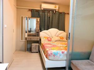 For RentCondoRangsit, Patumtani : For rent, Plum Park Phase 1, Building D, 3rd floor, outside view.