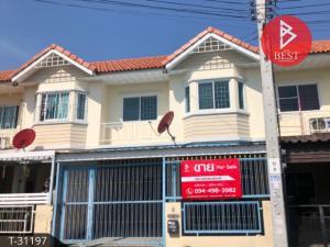 For SaleTownhouseRama 2, Bang Khun Thian : Townhouse for sale Pisan Thian Thale 20 Village, Bang Khun Thian, Bangkok