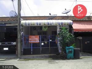 For SaleTownhouseSamrong, Samut Prakan : Single storey townhouse for sale. Den Chai Village Bang Mueang - Thepharak, Samut Prakan