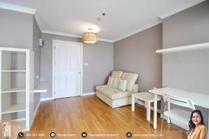 For RentCondoRama9, RCA, Petchaburi : JY-R00049-For rent Lumpini Place Rama 9 1bedroom 1bathroom 34sq.m. Building C on 8th floor.