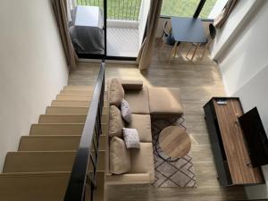 For RentCondoNawamin, Ramindra : Condo for rent Blossom @ Beyond 10th floor Duplex type 2 floors AOL-F81-2104003851.