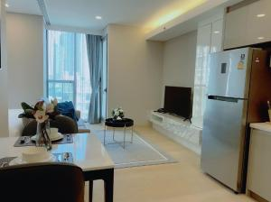 For RentCondoKhlongtoei, Kluaynamthai : Room for rent * 1 Bedroom * (Real room picture) Condo Siamese Exclusive Queen's, close to MRT Queen Sirikit National Convention Center, only 50 meters near Rama 4 intersection.