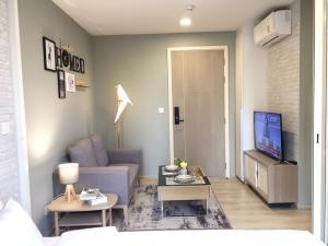 เช่าคอนโดอ่อนนุช อุดมสุข : For rent Condo Chamber Onnut Near Bts Onnut new room with beautiful decoration