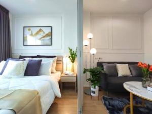 For SaleCondoOnnut, Udomsuk : Urgent sale, Condo Lumpini Ville On Nut 46, new decoration, whole room, 5th floor, open view, CE25-05