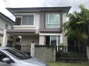 For SaleHouseRama 2, Bang Khun Thian : Single Detached House For Sale: Casa Presto Village, Rama 2 (0646654666)