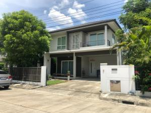 For SaleHouseBangbuathong, Sainoi : Single detached house for sale: Chaiyapruek Village, Rattanathibet-Ring Road 0646654666.