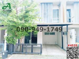 For RentTownhouseLadprao 48, Chokchai 4, Ladprao 71 : 2 storey townhouse for rent, Plan City Pruksa Nak Niwat 48, intersection 14-1.