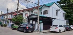For SaleTownhouseRama 2, Bang Khun Thian : Townhouse for sale behind the corner. Sinthavee Ngamcharoen Village, Tha Kham Subdistrict, Bang Khun Thian District