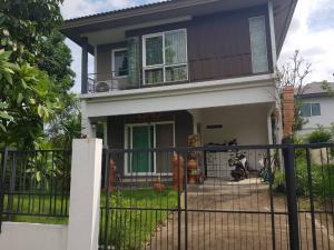 For SaleHouseRathburana, Suksawat : Detached house for sale: Prueklada village, Pracha Uthit 90 (0646654666).