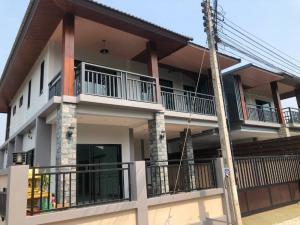ขายบ้านเชียงราย : ขายบ้านเดี่ยว หมู่บ้านโชควารี ใกล้แยกหนองจ๊อม ราคาถูก!!