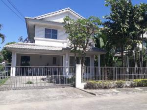 For SaleHouseRama 2, Bang Khun Thian : House for sale: Prueklada village, Tha Kham - Rama 2 (0646654666).