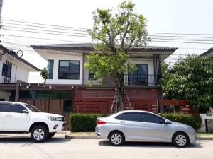 For SaleHouseBangbuathong, Sainoi : Single Detached House For Sale: Casa Ville Village Bangyai (0646654666)