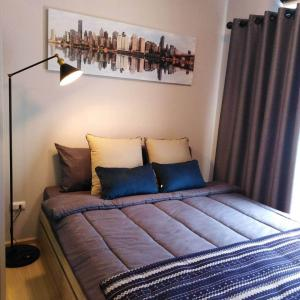 For RentCondoChengwatana, Muangthong : 📌 [Condo for rent] Plum Condo Chaeng Wattana Station Phase 3, beautiful room, fully furnished, close to the Green Line BTS.