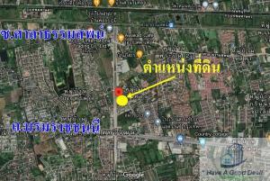 For SaleLandNakhon Pathom, Phutthamonthon, Salaya : Land 12-1-12 rai next to Phutthamonthon Sai 3 Road.