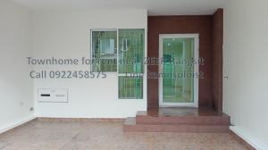 For RentTownhouseRangsit, Patumtani : Townhome  3 storeys near Zeer Rangsit 3 bedroom 4 bathroom