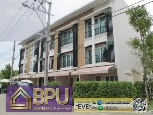 For SaleTownhousePattanakan, Srinakarin : ** 3 Bedrooms Townhome for Rent/Sale **  Baan Klang Mueang Rama 9 (Motorway) Near The Nine Rama9