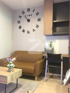 For RentCondoSamrong, Samut Prakan : M0452-Condo for rent, Ideo Sukhumvit 115, next to BTS Pu Chao Saming Phai, fully furnished, ready to move in.