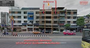 For RentShophouseRama5, Ratchapruek, Bangkruai : Commercial building for rent on Phibulsongkram main road, opposite the shell pump Before going up to Rama 5 Bridge, Nonthaburi