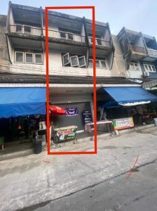 For RentShophouseNawamin, Ramindra : Commercial building for rent (a commercial building) 3.5 floors including mezzanine