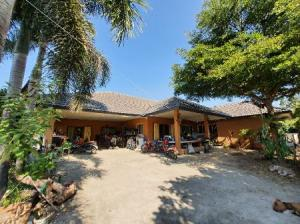 For SaleHouseChiang Mai : House for sale with land in Mae Rim, Chiang Mai, 250 sq m. 3 ngan, 5 sq.wa, on a paved road, convenient to travel.